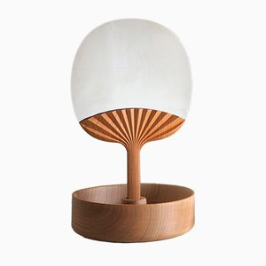 Selfportrait Table Mirror in Wood by Studio Lido for Portego