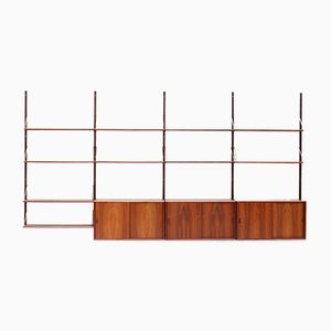 Danish Rosewood Shelf System, 1960s
