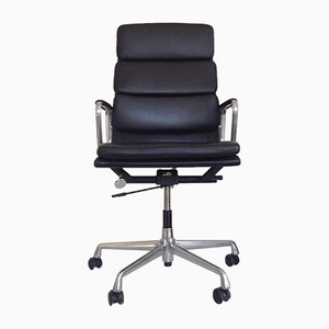 Vintage EA 219 Swivel Chair by Charles & Ray Eames for Herman Miller
