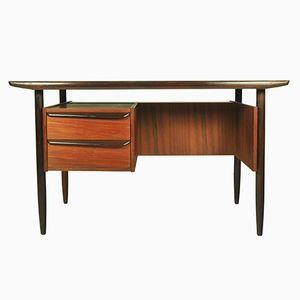 Niederländischer Teak Schreibtisch von Louis van Teeffelen, 1960er