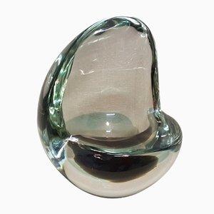 Vase aus Sommerso Glas von Flavio Poli für Seguso, 1940er