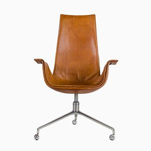 Tulip FK Swivel Chair by Preben Fabricius & Jørgen Kastholm for Kill International, 1960s