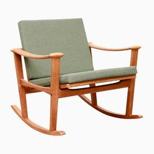 Rocking Chair en Chêne par M. Nissen pour Pastoe, 1960s