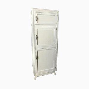 Vintage Wooden Shelved Cabinet