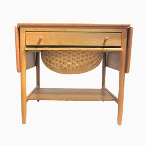 Model AT-33 Console Table by Hans J. Wegner for Andreas Tuck, 1950s