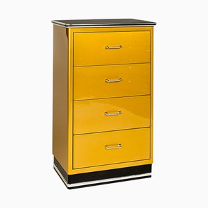 Vintage Industrial Golden Dresser from Baisch