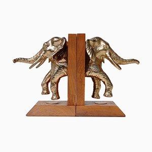 Elefant Buchstützen von Don Winton, 1950er, 2er Set