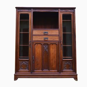 Antique Mahogany Library by Gauthier-Poinsignon