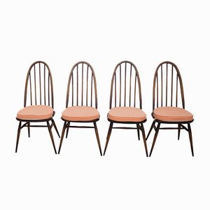 Model 365 Quaker Dining Chairs by Lucian Ercolani for Ercol, 1960s, Set of 4