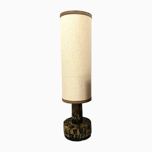 Large Ceramic Table or Floor Lamp from Dijkstra Lampen, 1960s