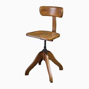 Chaise Rotation Vintage avec Ressort par Albert Stoll pour Stoll & Klock