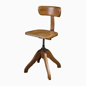 Vintage Spring Rotation Chair by Albert Stoll for Stoll & Klock