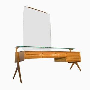 Mid-Century Italian Maple Vanity Dresser by Vittorio Dassi & Plinio Dassi, 1950s