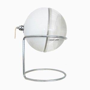 Kugelförmige vintage Focus Tischlampe von Fabio Lenci für Guzzini