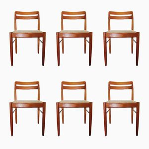 Dining Chairs by H.W. Klein for Bramin, 1960s, Set of 6