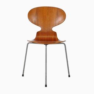 Dänischer Modell 3100 Stuhl von Arne Jacobsen für Fritz Hansen, 1958