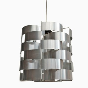 Cylindric Space Age Pendant Lamp by Max Sauze, 1970s
