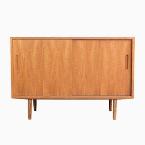 Kleines Mid-Century Sideboard in Teak von Hundevad & Co.
