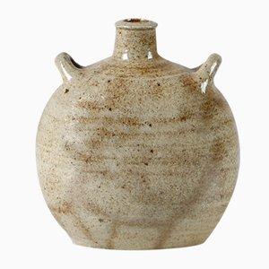 Jarrón de cerámica vintage de Nils Kähler para HAK, años 60