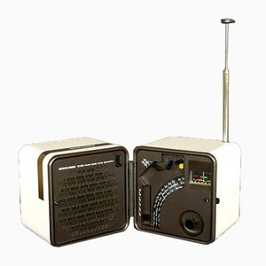 Radio Cube TS 505 par Marco Zanuso & Richard Sapper pour Brionvega, 1976