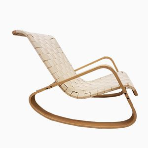 Vintage Rocking Chair by Crassevig Luigi for Crassevig, 1970s