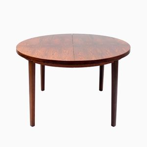 Swedish Rosewood Extendable Table, 1960s