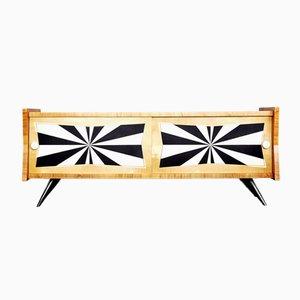 Mid-Century Modern Italian Ash Sideboard, 1960s
