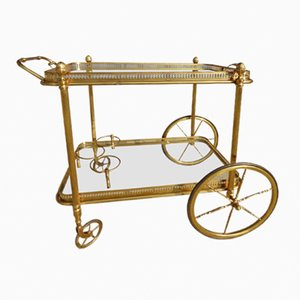 French Serving Trolley from Maison Jansen, 1960s
