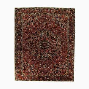Persischer handgewobener Bakhtiari Teppich aus Wolle & Baumwolle, 1970er