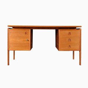 Danish Teak Desk by Arne Vodder for G.V Møbler, 1960s
