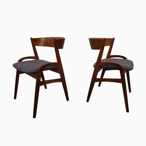 Dänische Teak Stühle, 1960er, 2er Set