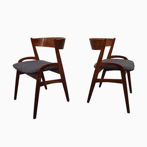 Sedie in teak, Danimarca, anni '60, set di 2