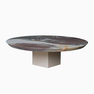 Centre de Table en Marbre Clarice et Céramique par Tiziana Vittoni Pairazzi pour Paira