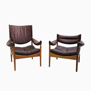 Modus Armchairs by Kristian Vedel for Søren Willadsen, 1960s, Set of 2