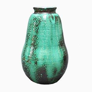 Vase en Forme de Poire en Céramique par Primavera pour C. A. B., 1930s