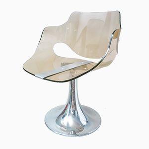 Space Age Altuglas Chair aus Rauchglas, 1970er