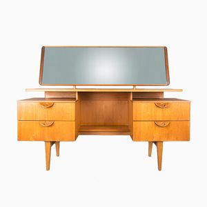 Mid-Century Vanity Table or Desk in Teak