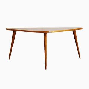Dutch Beech Coffee Table from De Ster Gelderland, 1960s