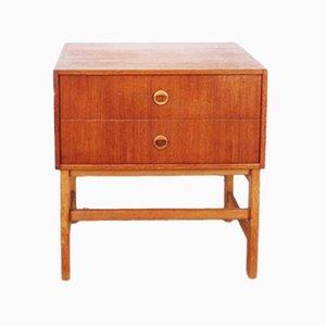 Vintage Teak Nachttisch, 1960er