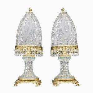 Tischlampen von Valéry Klein für Baccarat, 1960er, 2er Set