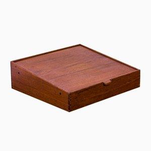 Teak Box von A.B. Madsen & E. Larsen für Willy Beck, 1950er