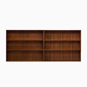 Teak Bookcases from Brantorps, 1960s, Set of 2