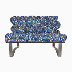 Fiberglass & Metal Sofa, 1960s