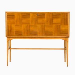 Mahogany Bar Cabinet by Carl-Axel Acking, 1950s