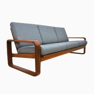 3-Sitzer Sofa aus massivem Teakholz, 1970er