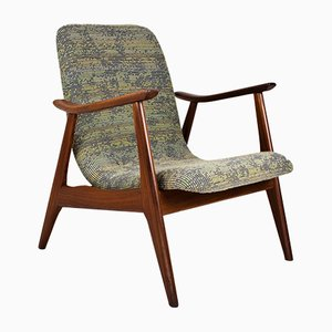 Mid-Century Teak Sessel von Louis Van Teeffelen für WéBé, 1960er