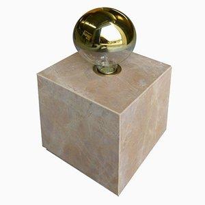 Galilei Granit Lamp in Giallo Siena Marble by Tiziana Vittoni Pairazzi for Paira