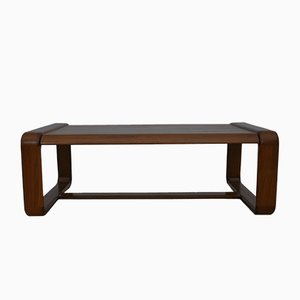 Solid Teak Coffee Table, 1970s