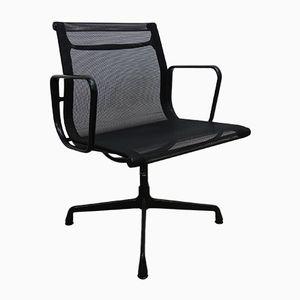 Sedia da ufficio EA108 in alluminio di Charles & Ray Eames per Vitra, anni '50