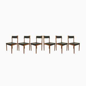 Chaises Mid-Century de Arzberger KG, Allemagne, 1960s, Set de 6